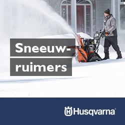 LeCoBa Husqvarna sneeuwruimer